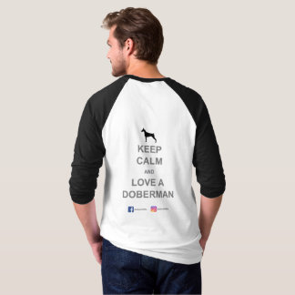 3/4 camiseta de la manga de los hombres