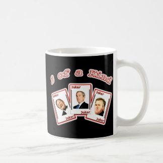 3 de una taza buena de Bush del COMODÍN - George,