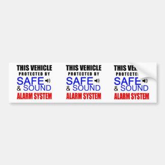 ¡3 en 1 pegatina falso del sistema de alarma para  pegatina para coche