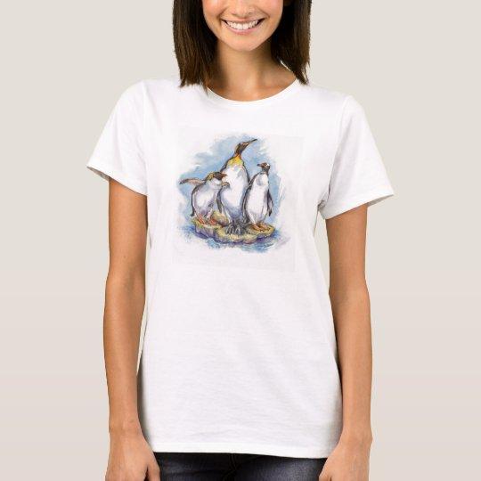 3 especies de camisetas del pingüino
