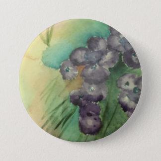 """3"""" grande botón redondo w/painting"""