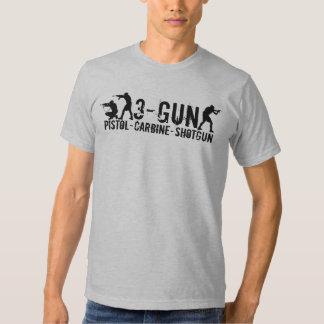3-Gun - Pistola - carabina - escopeta Camisas