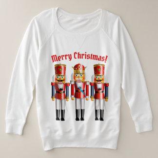 3 juguetes divertidos del cascanueces del navidad