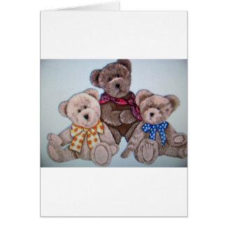 3 osos tarjetón