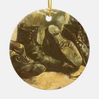 3 pares de zapatos, Vincent van Gogh, arte del Adornos De Navidad