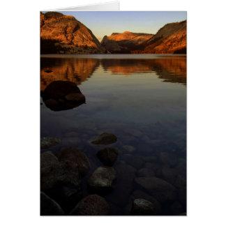3. Parque nacional de Yosemite Tarjeta De Felicitación