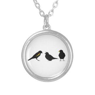 3 pequeños pájaros por el erndub colgante redondo