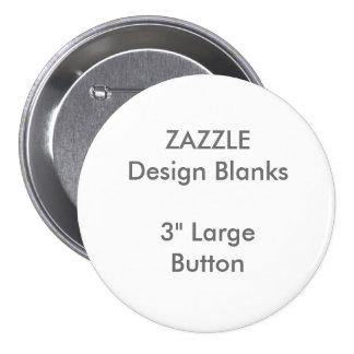 """3"""" personalizado plantilla redonda grande del chapa redonda de 7 cm"""