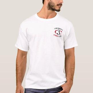 3 pies C3 satisfacen la camiseta