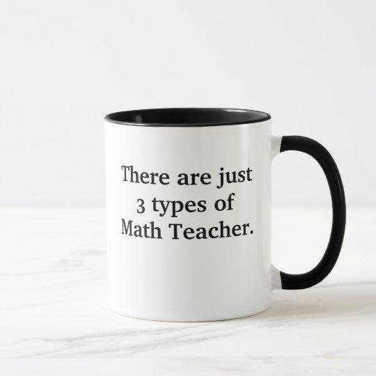 3 tipos de malo del profesor de matemáticas pero taza
