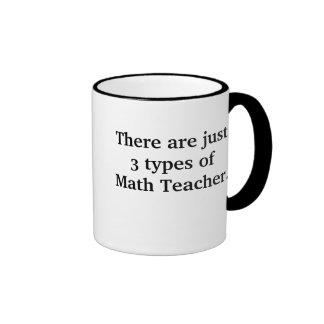 3 tipos de malo del profesor de matemáticas pero taza de dos colores
