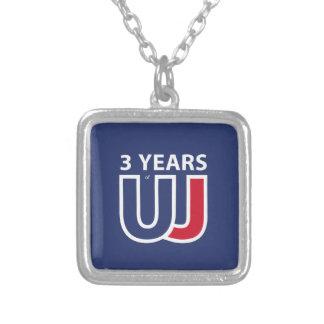 3 Years Of Union J ack Collar Plateado