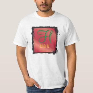 3d 셔츠 del 모노그램 t camisetas