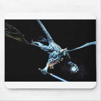 3D dragón Jedi Alfombrilla De Ratón