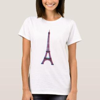 3D Eiffel (mujeres) Camiseta