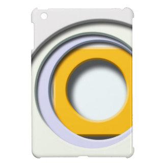 3D, Formas circulares, degradado amarillo carcasa