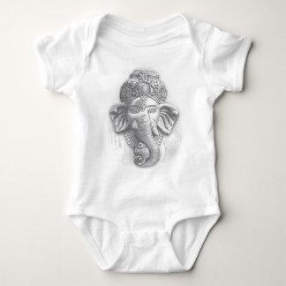 3d señor Ganesha - OM Body Para Bebé