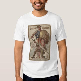 3ro Boy scout de la campaña del préstamo de la Camiseta