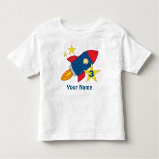 3ro Camiseta personalizada nave de Rocket del