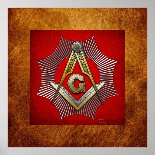 3ro Grado: Albañil principal Posters