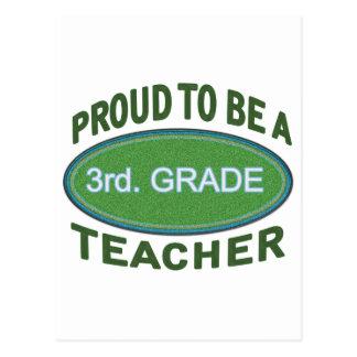 3ro orgulloso. Profesor del grado Postal