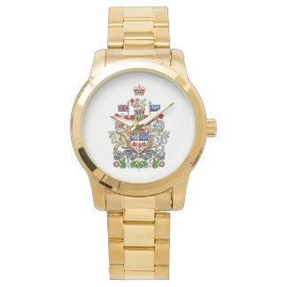 [400] Escudo de armas de Canadá [3D] Reloj