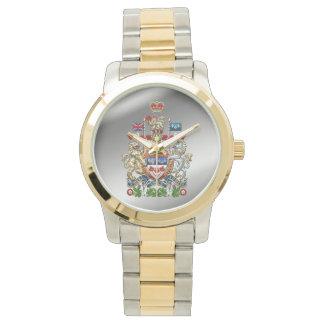 [400] Escudo de armas de Canadá [3D] Reloj De Mano