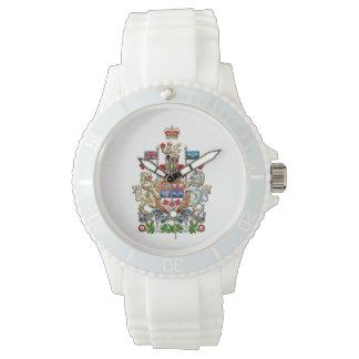 [400] Escudo de armas de Canadá [3D] Relojes