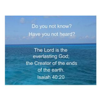 40:20 de Isaías Postal