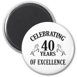 40.as ideas elegantes del regalo de cumpleaños imán para frigorífico