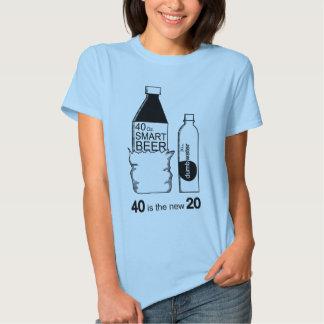 40 es los nuevos 20 camiseta