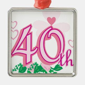 40.o aniversario ornamentos de reyes magos