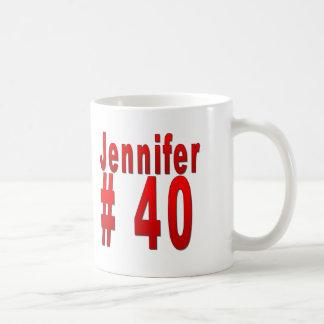 40.o cumpleaños de Jennifer Taza De Café