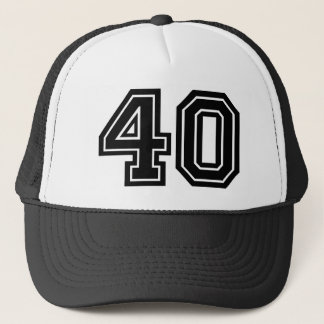 40.o Cumpleaños Gorra De Camionero