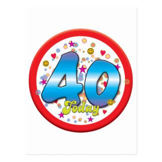 40 o Cumpleaños hoy