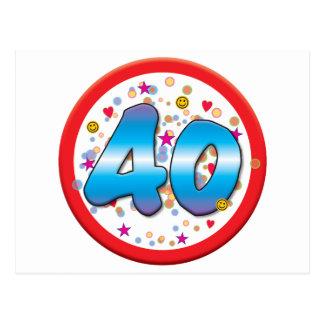 40 o Cumpleaños