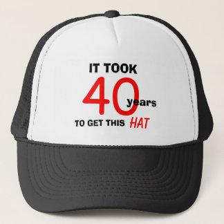 40.o Gorra de los regalos de la mordaza del