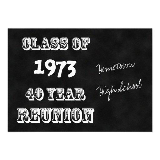 40.o Invitación de la reunión de antiguos alumnos