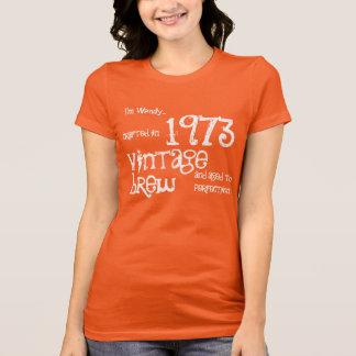 40.o Naranja 1973 del Brew del vintage del regalo Camisetas