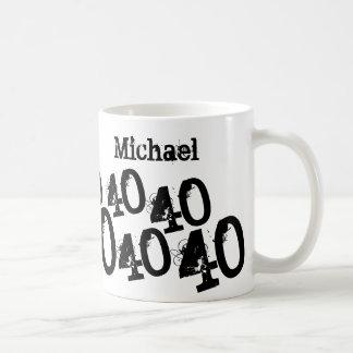 40.o nombre personalizado del personalizado del taza de café