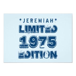 40.o Personalizado E32 de la edición limitada del Invitación 12,7 X 17,8 Cm