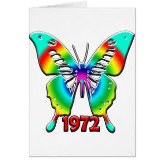 40 o Regalos de cumpleaños 1972 Felicitacion