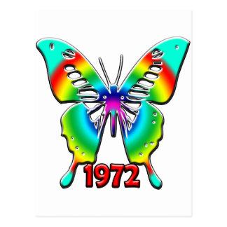 40 o Regalos de cumpleaños 1972 Tarjeta Postal