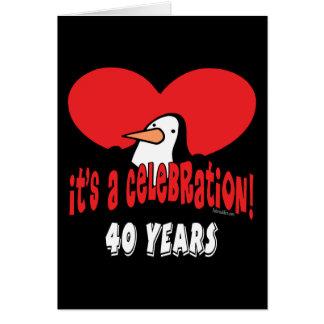 40.o Regalos de cumpleaños Tarjeton