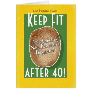 40.o Tarjeta de cumpleaños: Programa de fitness