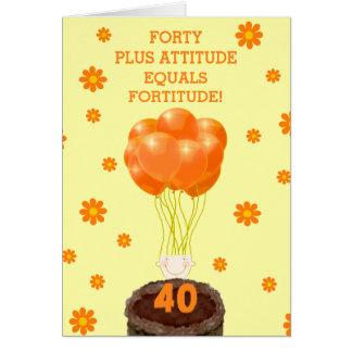 40.os deseos del feliz cumpleaños tarjeta de felicitación
