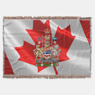 [410] Escudo de armas de Canadá [3D] Manta
