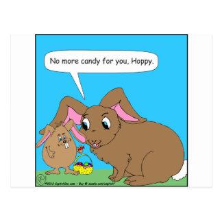 440 no más de dibujo animado del caramelo de postal