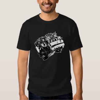 440 seis negros del paquete camiseta