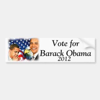 44.o y 45.o presidente Barack Obama_ Etiqueta De Parachoque